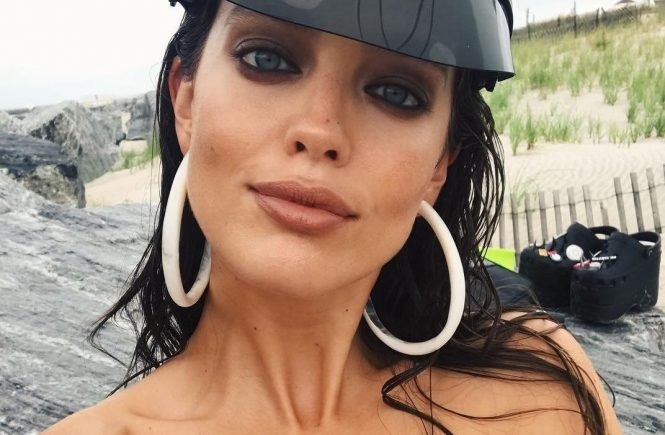 Emily DiDonato has posted a photo on Instagram with the following remarks: Rain or shine the fashion is happening on the beach today ???????????? #onset Makeup by the one and only @erinparsonsmakeup erinparsonsmakeup Twitter, 2018-06-14 11:22:57. Photo supplied by insight media. Service fee applies. NICHT ZUR VERÖFFENTLICHUNG IN BÜCHERN UND BILDBÄNDEN! EDITORIAL USE ONLY! / MAY NOT BE PUBLISHED IN BOOKS AND ILLUSTRATED BOOKS! Please note: Fees charged by the agency are for the agency's services only, and do not, nor are they intended to, convey to the user any ownership of Copyright or License in the material. The agency does not claim any ownership including but not limited to Copyright or License in the attached material. By publishing this material you expressly agree to indemnify and to hold the agency and its directors, shareholders and employees harmless from any loss, claims, damages, demands, expenses (including legal fees), or any causes of action or allegation against the agency arising out of or connected in any way with publication of the material., Image: 374868224, License: Rights-managed, Restrictions: NICHT ZUR VERÖFFENTLICHUNG IN BÜCHERN UND BILDBÄNDEN! Please note additional conditions in the caption, Model Release: no, Credit line: Profimedia, Insight Media