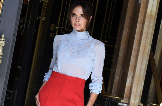 Victoria Beckham leave her hotel for the Dior show in Paris, France on June 23th, 2018., Image: 375815810, License: Rights-managed, Restrictions: , Model Release: no, Credit line: Profimedia, Abaca