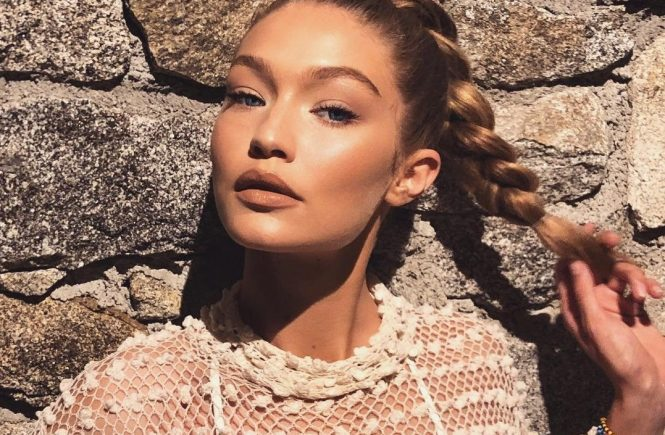 """Gigi Hadid releases a photo on Instagram with the following caption: """"ud83cuddecud83cuddf7 by night""""., Image: 376585386, License: Rights-managed, Restrictions: *** No USA Distribution *** For Editorial Use Only *** Not to be Published in Books or Photo Books *** Handling Fee Only ***, Model Release: no, Credit line: Profimedia, SIPA USA"""