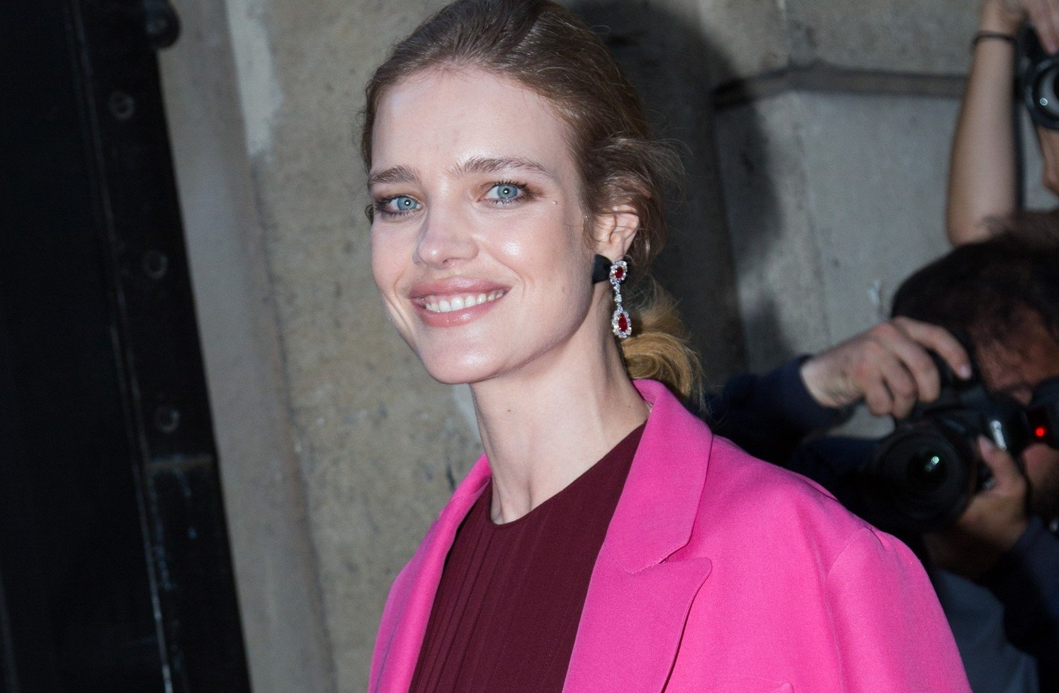 Natalia Vodianova attends the Valentino Haute Couture Fall Winter 2018/2019 show as part of Paris Fashion Week on July 4, 2018 in Paris, France., Image: 376931061, License: Rights-managed, Restrictions: , Model Release: no, Credit line: Profimedia, KCS Presse