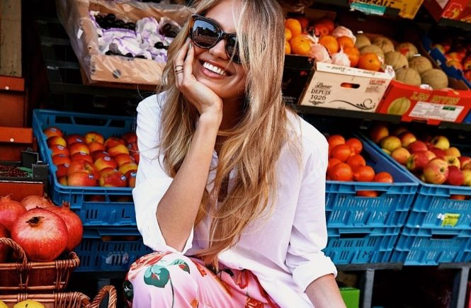 Romee Strijd has posted a photo on Instagram with the following remarks: What's your favorite fruit? mine is Twitter, 2018-07-31 15:14:49. Photo supplied by insight media. Service fee applies. NICHT ZUR VERÖFFENTLICHUNG IN BÜCHERN UND BILDBÄNDEN! EDITORIAL USE ONLY! / MAY NOT BE PUBLISHED IN BOOKS AND ILLUSTRATED BOOKS! Please note: Fees charged by the agency are for the agency's services only, and do not, nor are they intended to, convey to the user any ownership of Copyright or License in the material. The agency does not claim any ownership including but not limited to Copyright or License in the attached material. By publishing this material you expressly agree to indemnify and to hold the agency and its directors, shareholders and employees harmless from any loss, claims, damages, demands, expenses (including legal fees), or any causes of action or allegation against the agency arising out of or connected in any way with publication of the material., Image: 380403151, License: Rights-managed, Restrictions: NICHT ZUR VERÖFFENTLICHUNG IN BÜCHERN UND BILDBÄNDEN! Please note additional conditions in the caption, Model Release: no, Credit line: Profimedia, Insight Media
