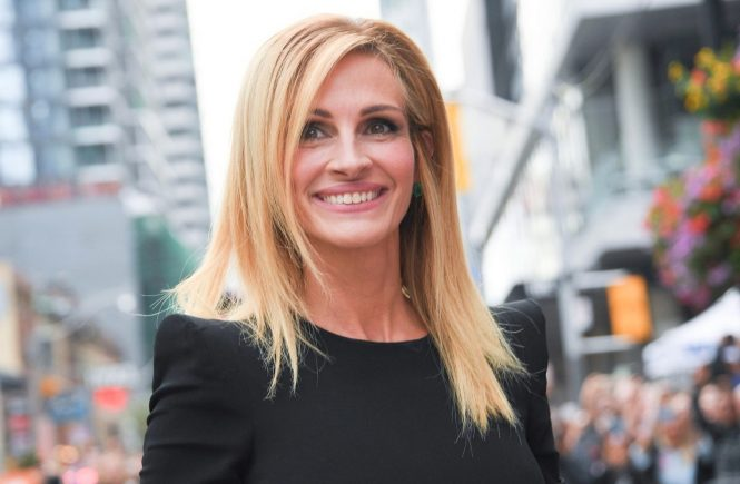 Actress JULIA ROBERTS attends 'Ben Is Back' premiere during the 2018 Toronto International Film Festival at Princess of Wales Theatre on September 08, 2018 in Toronto, Canada
