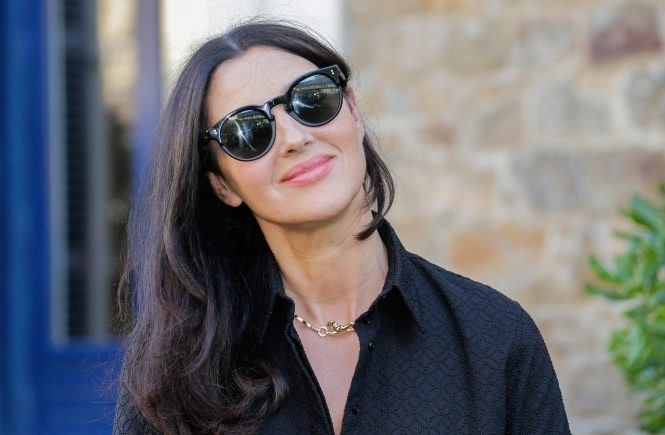 Monica Bellucci during the 29th edition of Dinard Film Festival on September 28, 2018 in Dinard, France., Image: 388964241, License: Rights-managed, Restrictions: , Model Release: no, Credit line: Profimedia, Abaca