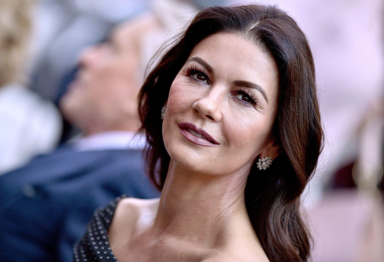 Catherine Zeta-Jones attends the ceremony honoring Michael Douglas with a star on the Hollywood Walk of Fame in Los Angeles, California on November 6th, 2018., Image: 394427104, License: Rights-managed, Restrictions: , Model Release: no, Credit line: Profimedia, Abaca