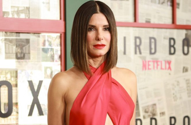 Sandra Bullock at arrivals for BIRD BOX Premiere, Alice Tully Hall at Linocln Center, New York, NY December 17, 2018., Image: 403195924, License: Rights-managed, Restrictions: For usage credit please use; Jason Mendez/Everett Collection, Model Release: no, Credit line: Profimedia, Everett RC/TV/Movies