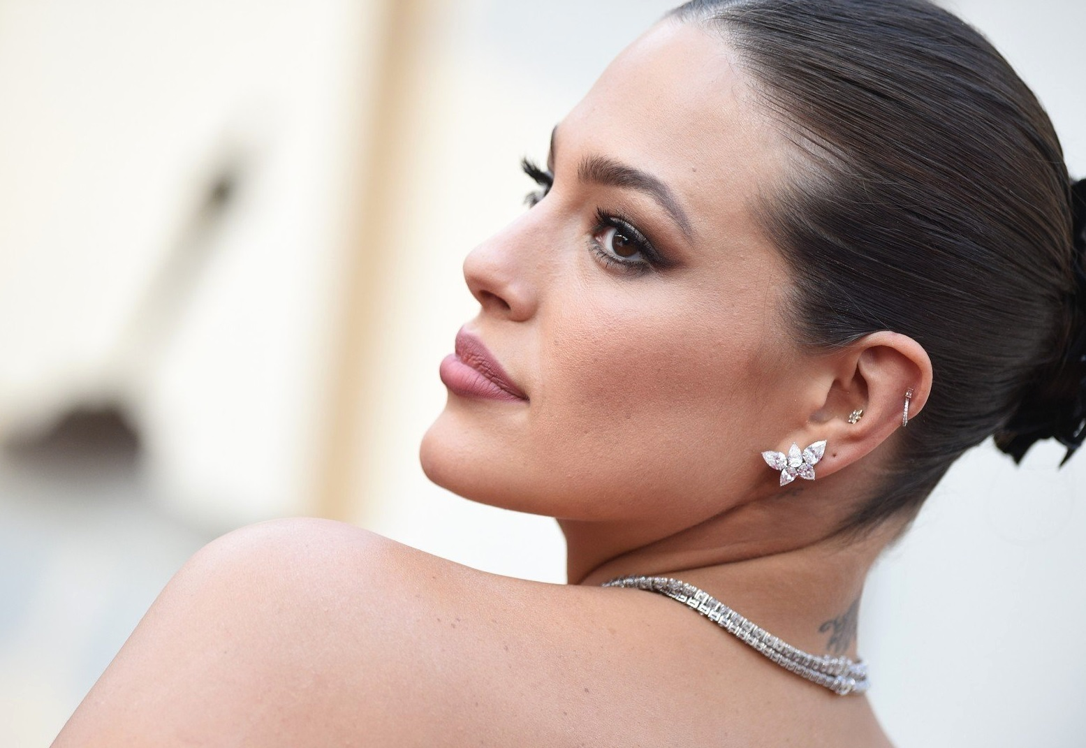 Ashley Graham walking the red carpet as arriving to the 91st Academy Awards (Oscars) held at the Dolby Theatre in Hollywood, Los Angeles, CA, USA, February 24, 2019. Photo by Lionel Hahn/ABACAPRESS.COM