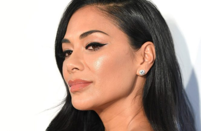 Nicole Scherzinger attending the Elton John AIDS Foundation Viewing Party held at West Hollywood Park, Los Angeles, California, USA., Image: 415743157, License: Rights-managed, Restrictions: , Model Release: no, Credit line: Profimedia, Press Association