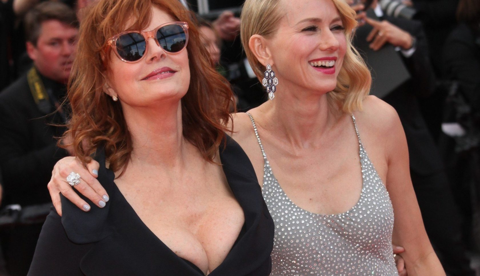 SUSAN SARANDON AND NAOMI WATTS - RED CARPET OF THE FILM 'MONEY MONSTER' AT THE 69TH FESTIVAL OF CANNES 2016, Image: 284282723, License: Rights-managed, Restrictions: NO RESTRICTION, Model Release: no, Credit line: Profimedia, Visual